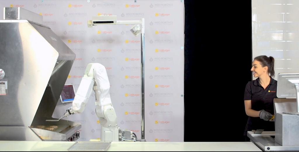 Flippy - burger flipping robot