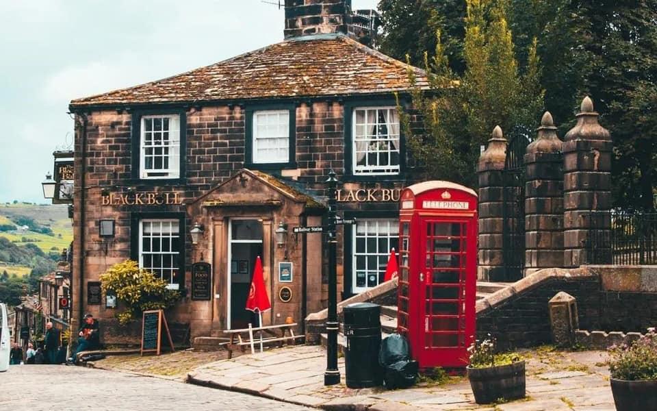 Black Bull Pub Haworth